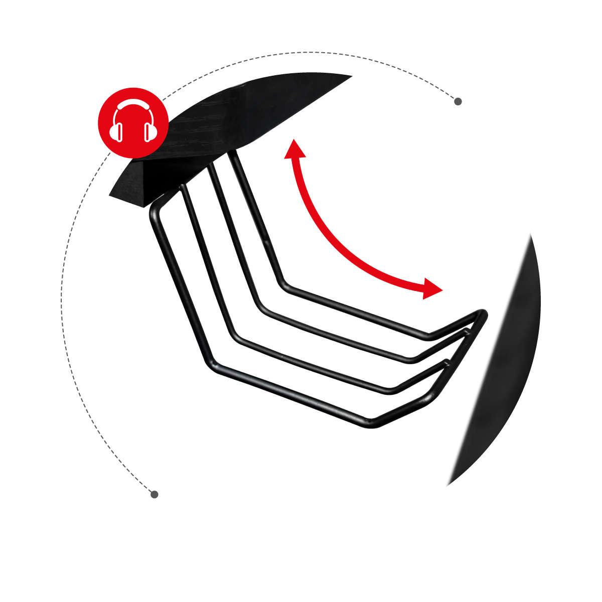 Huzaro Hero 7.0 uchwyt na słuchawki