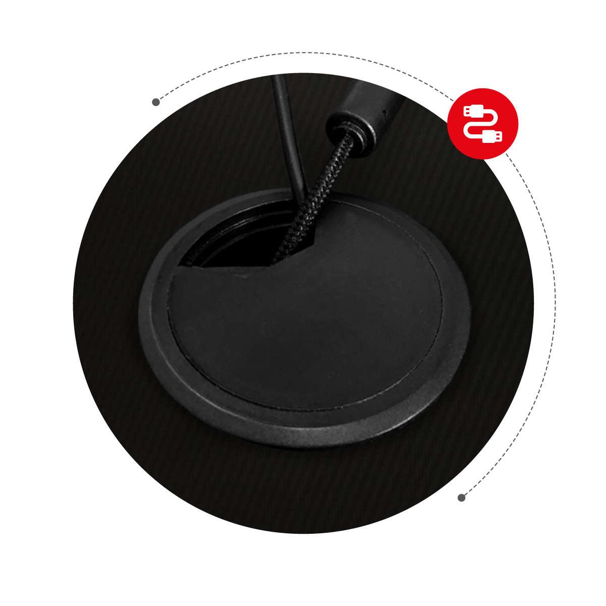 Fotel gamingowy Huzaro Force 3.0 Czarny