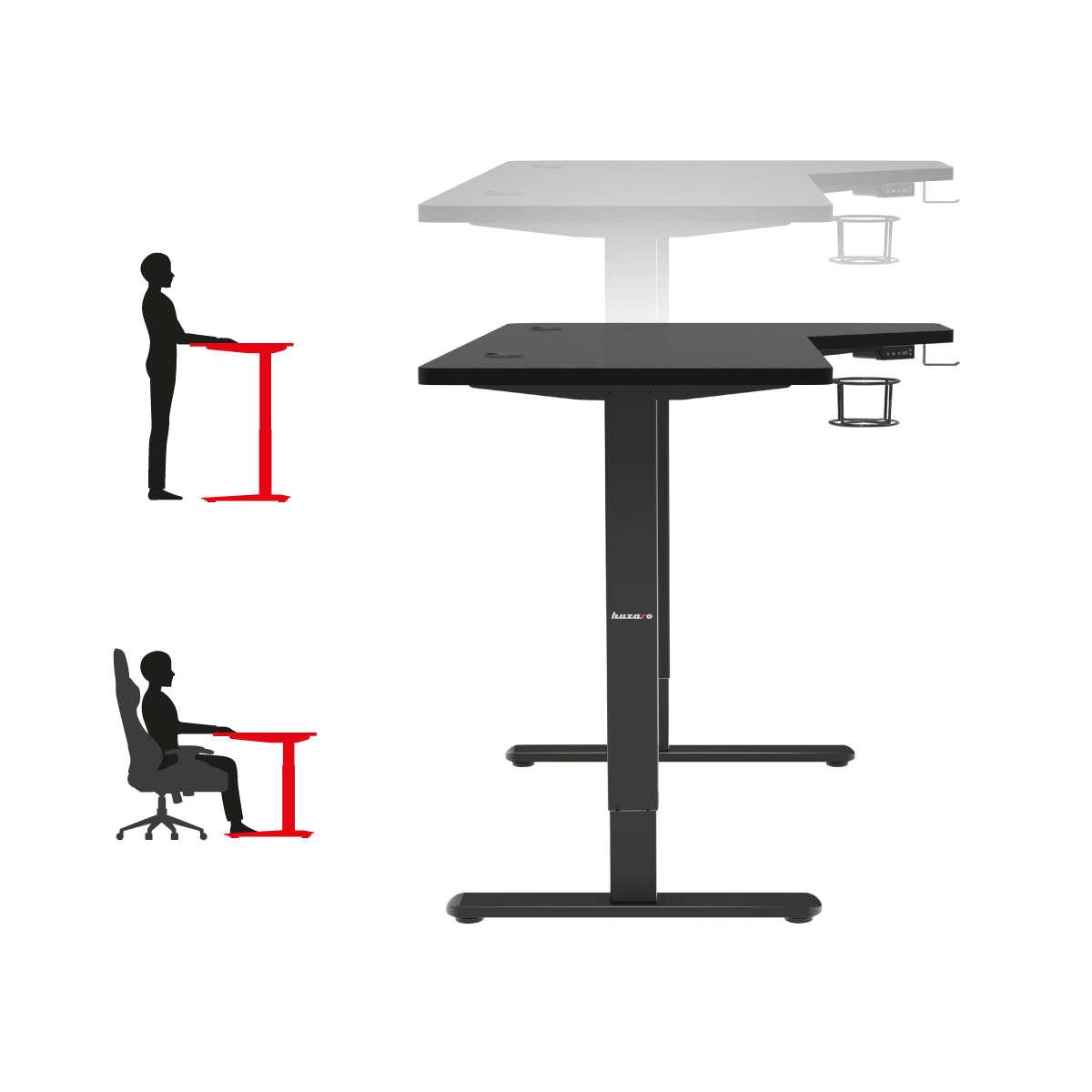 Regulacja wysokości biurka w Huzaro Hero 9.0