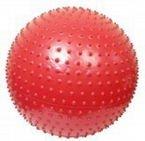 ATHLETIC24 Massage 65 czerwona - Piłka do masażu z kolcami
