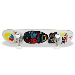 LA SPORTS - 25526 - Deskorolka Concave Double Kick Deck