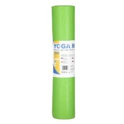 ONE FITNESS YM02 GREEN - 17-44-202 - Mata do yogi 173x61x0,6cm