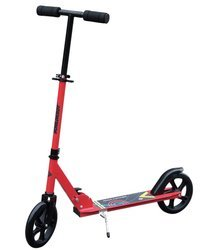 SCHILDKROT FUN WHEELS - CITY ROAD CATCHER 200mm STRAWBERRY - Hulajnoga